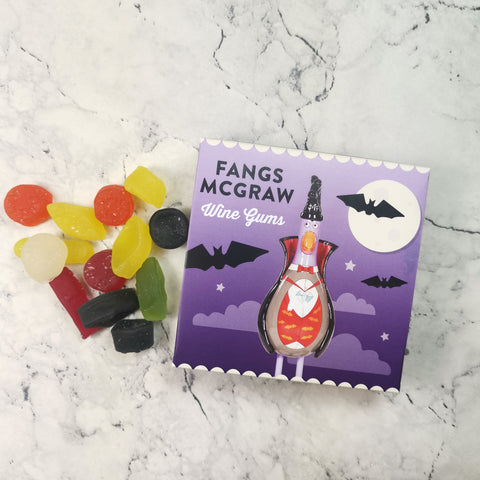 Fangs McGraw Wine Gums Sweet Box