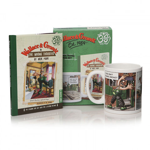Wallace & Gromit The Wrong Trousers gift set
