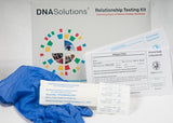 Informational Home Sibling DNA Test Kit Contents