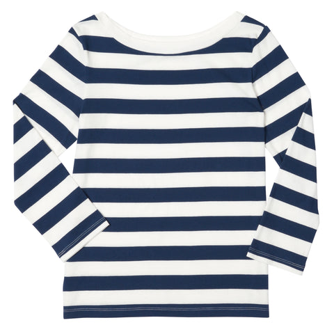 Boatneck 15 Graphic Stripe