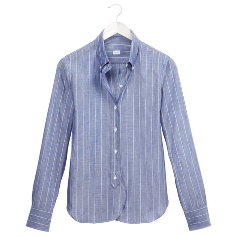 Fine Stripe Buttondown
