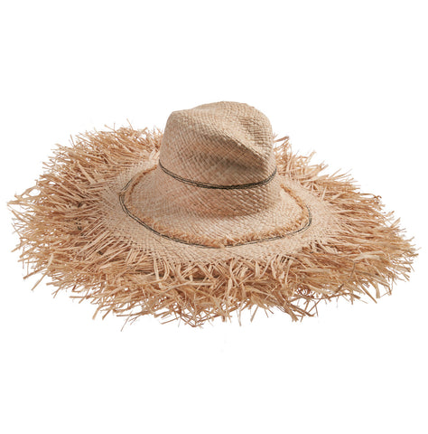 Palm Fringe Sun Hat