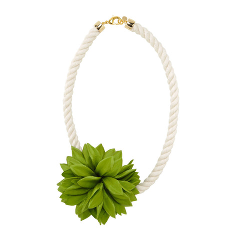 Rope Blossom Necklace
