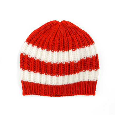 Two Stripe Stocking Cap