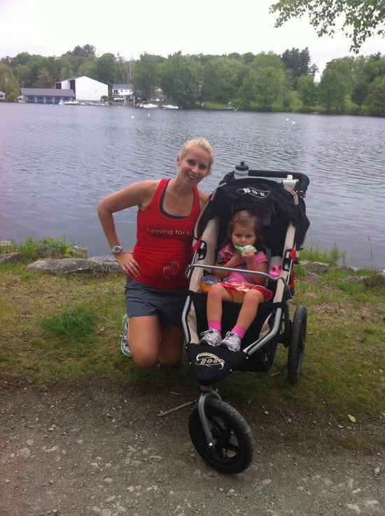A Pregnant Mommy's Guide to Running with a Stroller
