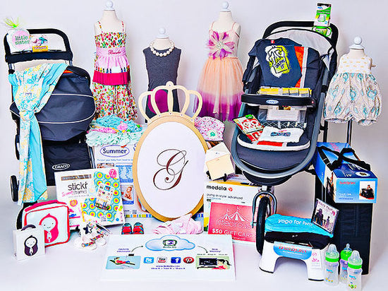 A Giveaway You Can NOT Miss!  People Magazine A Luxe Mom & Baby Gift Set (a $2,784 Value!)