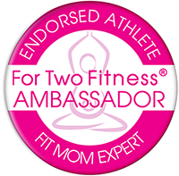 For Two Fitness Fit Mom Ambassador Logo