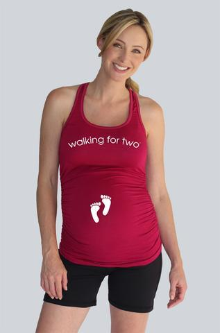 Maternity Graphic Tanks Los Angeles