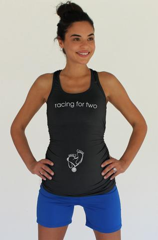 Future Runner Maternity Shirt Los Angeles