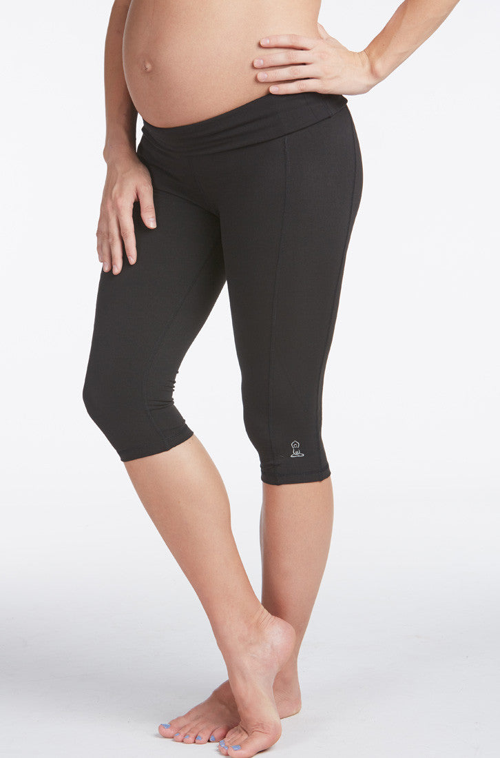 397cd2f415586 Distance Maternity Active Capri | For Two Fitness Maternity Activewear