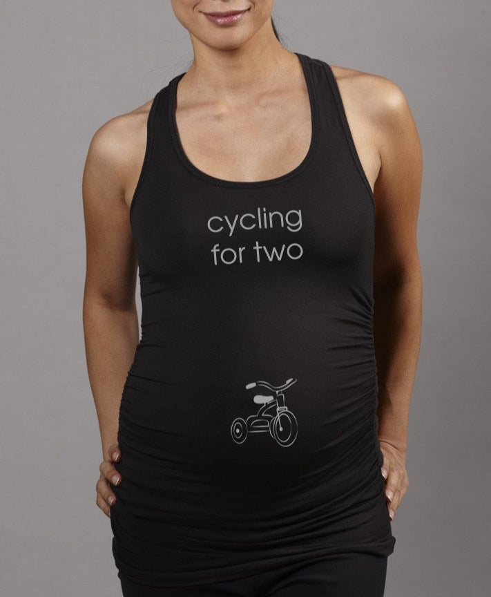 88c0686073 Maternity Spinning Cycling Workout Tank Top