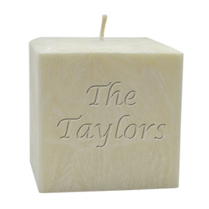 L00655 - Natural Square Candles