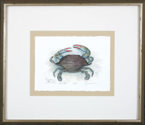 He & She Crab Prints