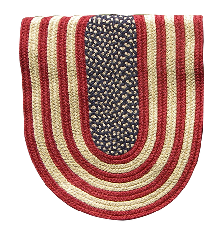L00965 - American Flag Braided Rugs