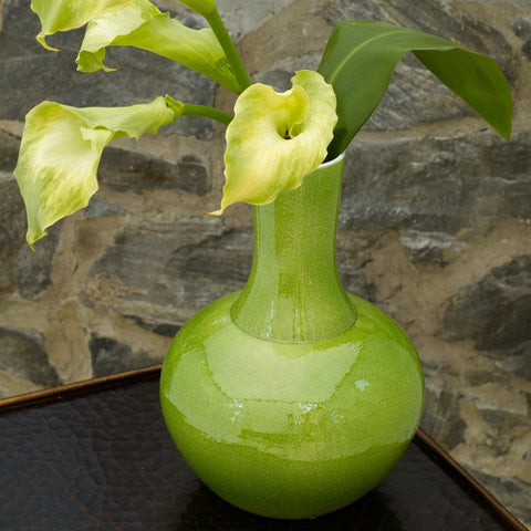 B47030 - Apple Green Vase