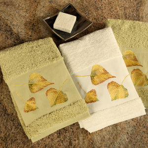 Aspen Leaf Bath Collection