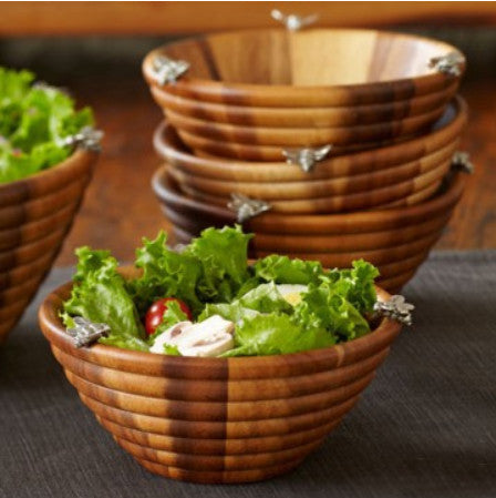 L00550 - Bee Hive Salad Serving Collection