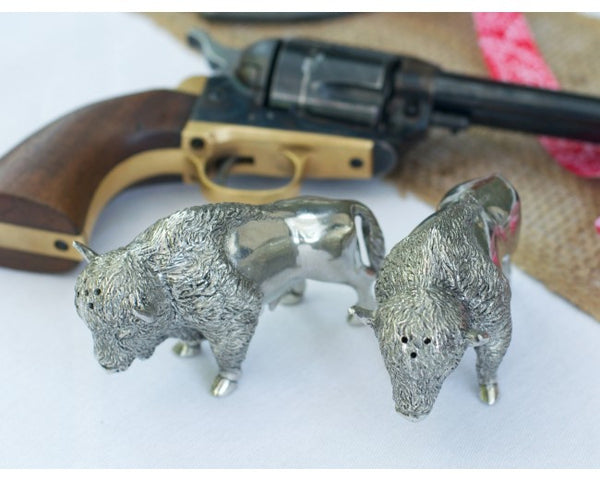 Bison Salt & Pepper Set