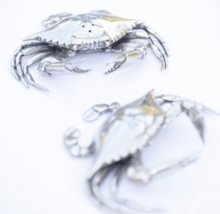 L00595 - Blue Crabs Salt & Pepper Set