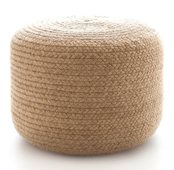 L00805 - Braided Pouf