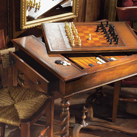 A21620 - Brightwood Walnut Games Table