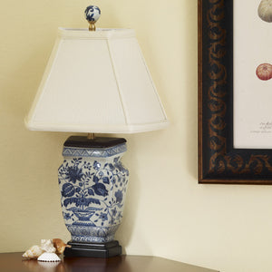 Canton porcelain wall lamp