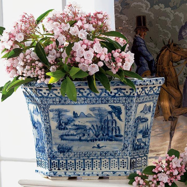 A44200 Chinoiserie Landscape Planter The Source Collection