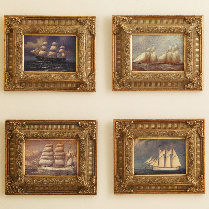 Clipper Ship Miniature Art