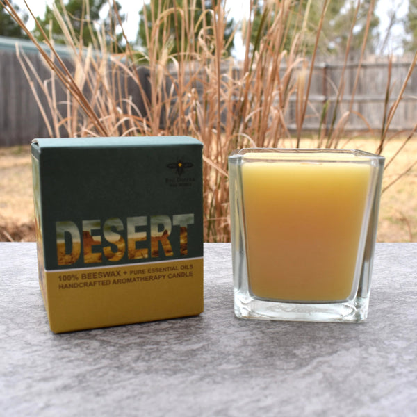 Desert Beeswax Candle