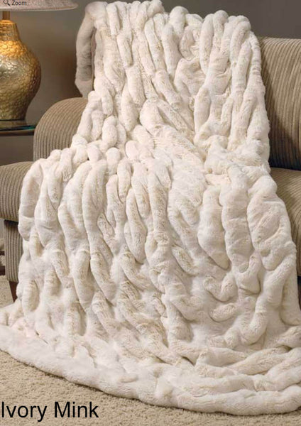 Faux Fur Throws