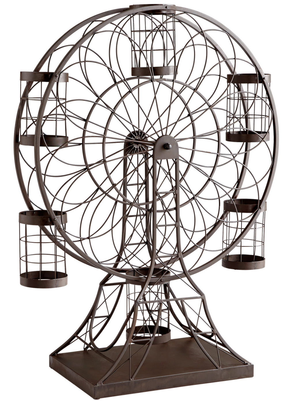 L01675 - Ferris Wheel Wine Holder