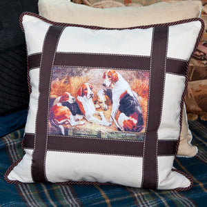Fox Hounds Pillow