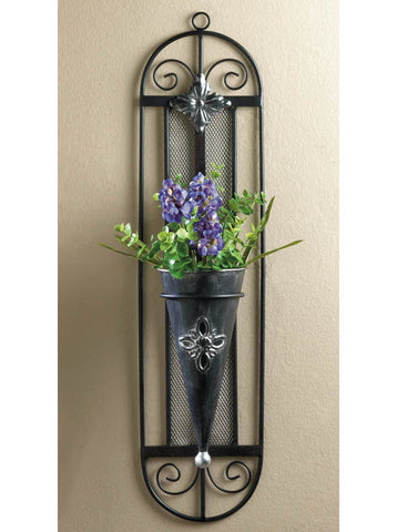 L01600 - French Cottage Wall Vase