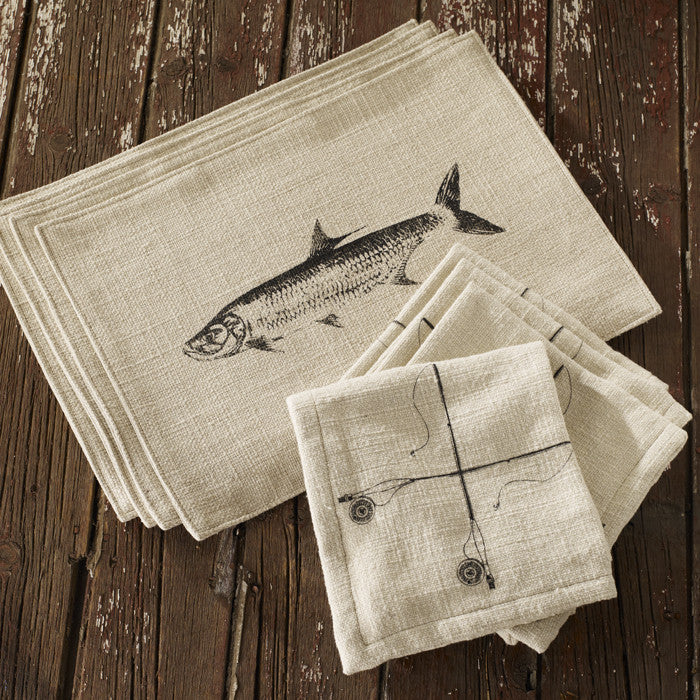 Freshwater Linen Placemats