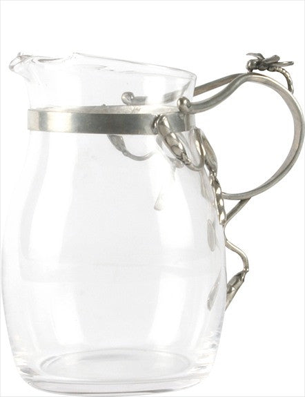 Glass Dragonfly Pitcher