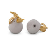 L01640 - Golden Pear Salt & Pepper Set