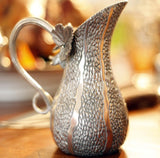 L00295 - Pewter Gourd Table Pitcher
