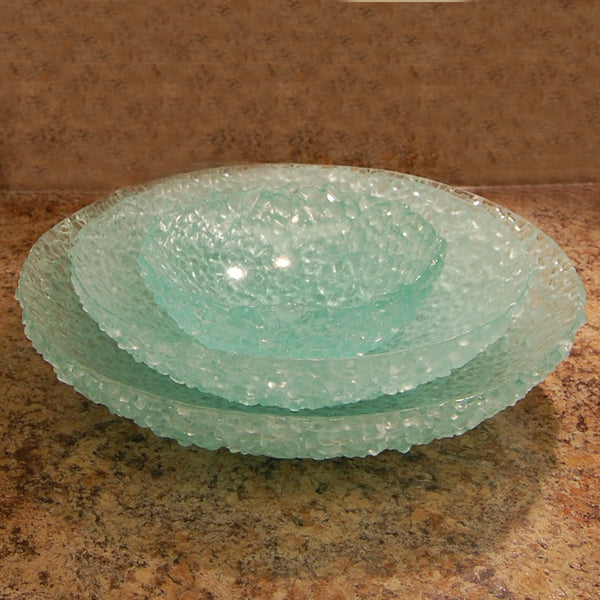 Handmade Recycled Glass Bowls