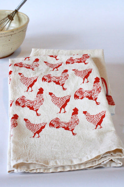 Chickens Kitchen Towel