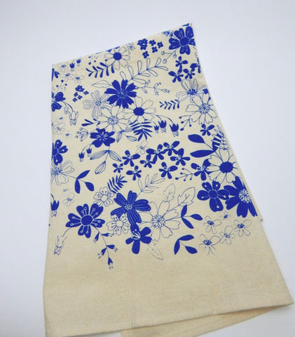 Vintage Floral Kitchen Towel