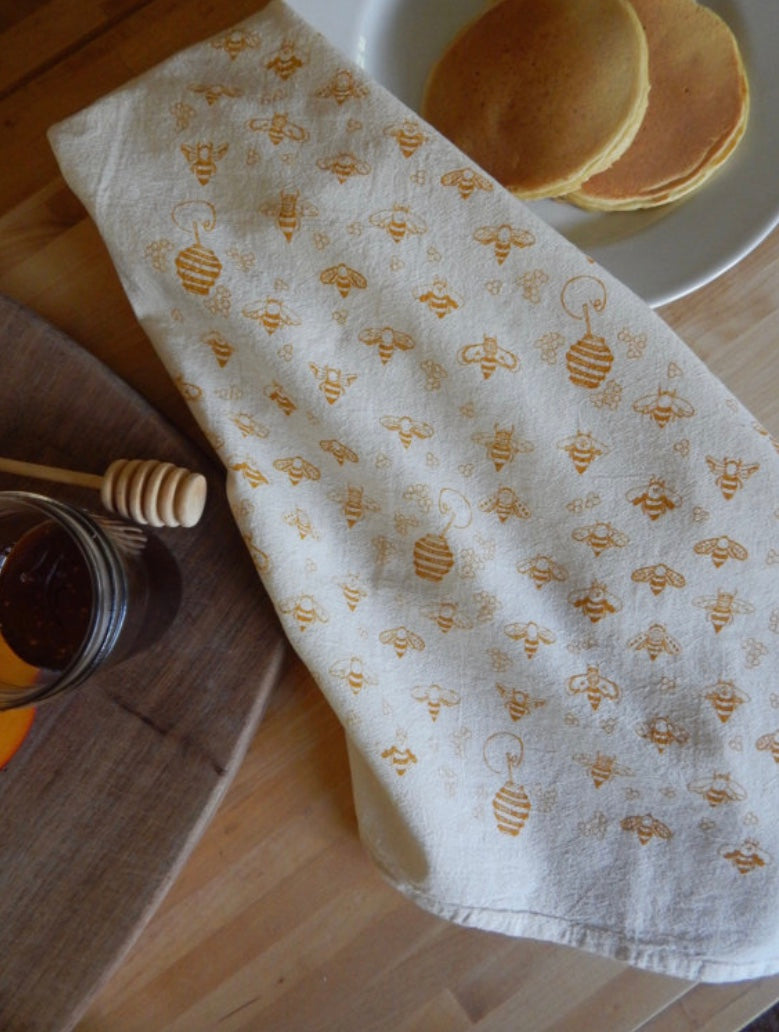 Bees Kitchen Towel