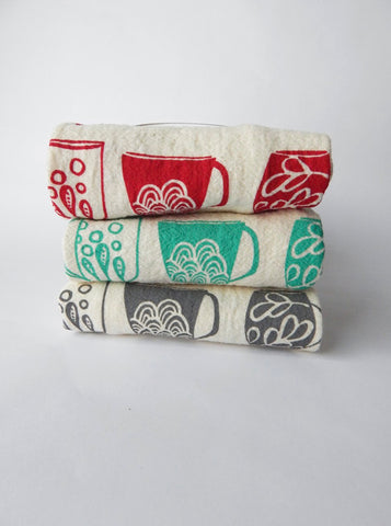 Mugs Kitchen Towels
