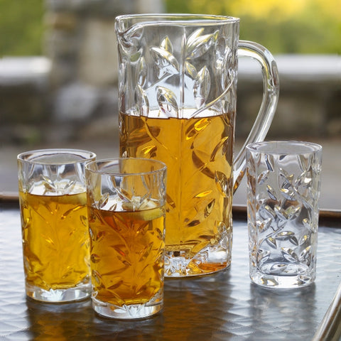 B84010 - Italian Crystal Drinks Set