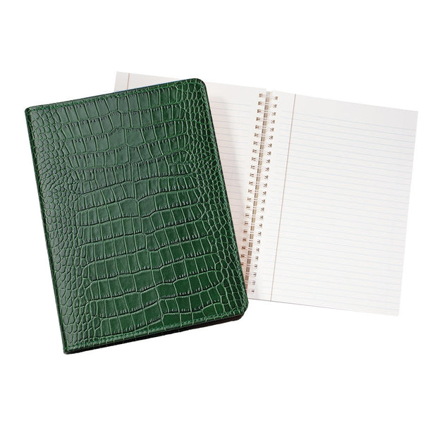 Leather Embossed Notebook
