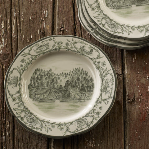 Lakeside Camp Dinnerware