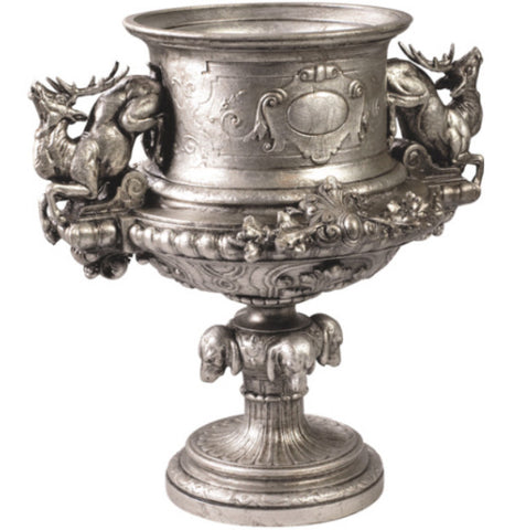 Leaping Stag Urn