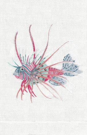 L00110 - Lionfish Linen Towels