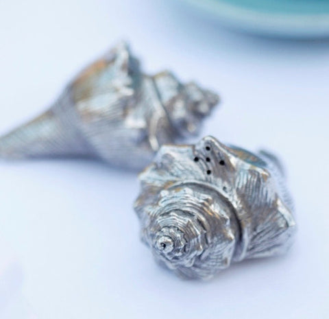 L00520 - Conch Shells Salt & Pepper Set