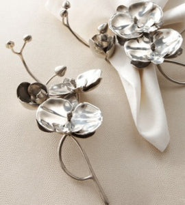 Orchid Napkin Rings