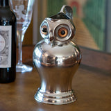 L00780 - Pewter Owl Pitcher